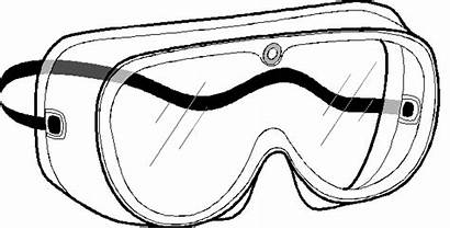 Goggles Safety Glasses Lab Clipart Drawing Clip