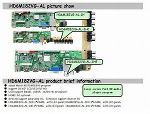 Tft Lcd Controller Board With Chip Of Mst6m182vg