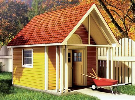fancy storage shed plan