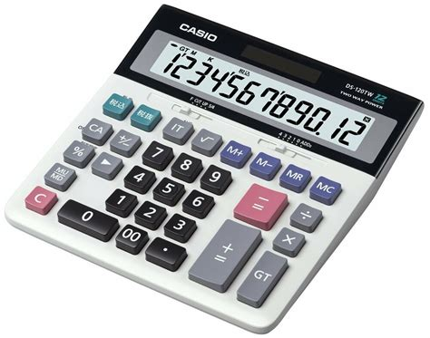Casio Desk Calculator by New Casio Desk Calculator Type Ds 120tw From Japan Import