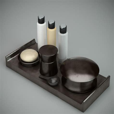 black bathroom accessories sets  model ds maxautodesk fbx files   modeling