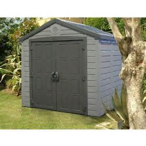 keter 8 x 6 sunterrace resin storage shed beige