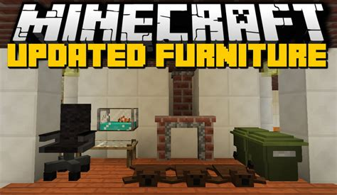 New Furniture Mod (chairs, Kitchens, Workplaces