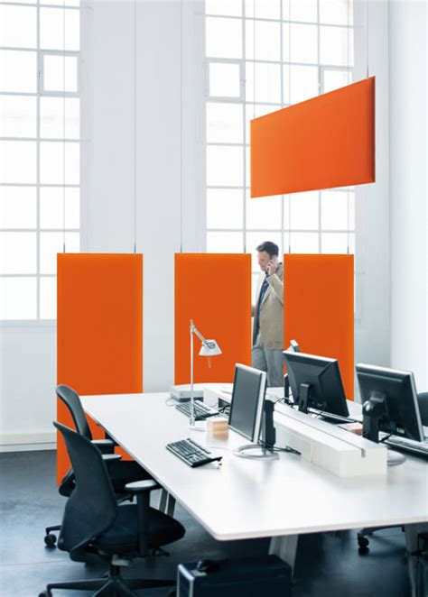 Akustik Schallschutzwände & Lärmschutzwände Im Büro
