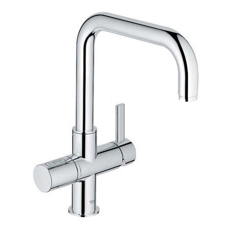Kitchen Mixer With Water Filter by Grohe Blue 2 Sparkling Water Filter Mono Kitchen Mixer