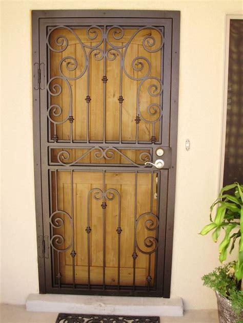 security screen door metal screen doors door design