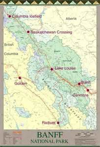 Banff National Park Map