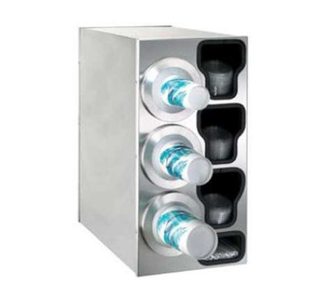 kitchen countertop organizer dispense rite countertop cup dispensing cabinet bfl c 3lss 1011