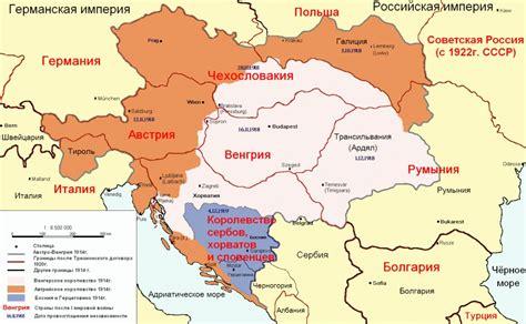 karta raspada avstro vengrii