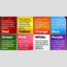 Color Wields Enormous Sway Over Our Attitudes And Emotions