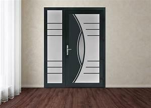 Devis Porte D Entrée : portes d entr e en panneaux double vitrages devis pose prix ~ Melissatoandfro.com Idées de Décoration