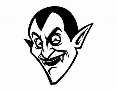 Dracula Count Colorear Coloring Head Para Dibujo