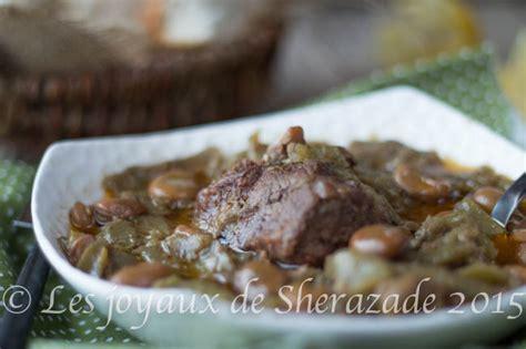 cuisiner des feves seches tajine de fèves tajine el foul les joyaux de sherazade