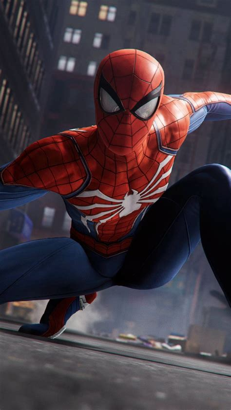 720x1280 Wallpaper Spiderman Ps4 Pro Video Game 2018