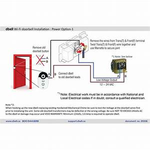 Mechanical Doorbell Wiring  U0026 Simple How To Wire A Doorbell