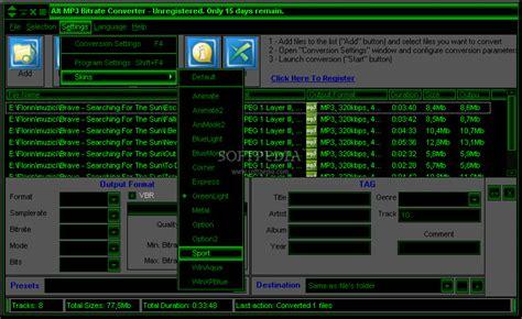 rate bit interface user