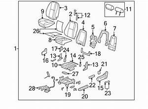 Gmc Sierra 1500 Seat Cover  Front   Driver  Power  Lumbar