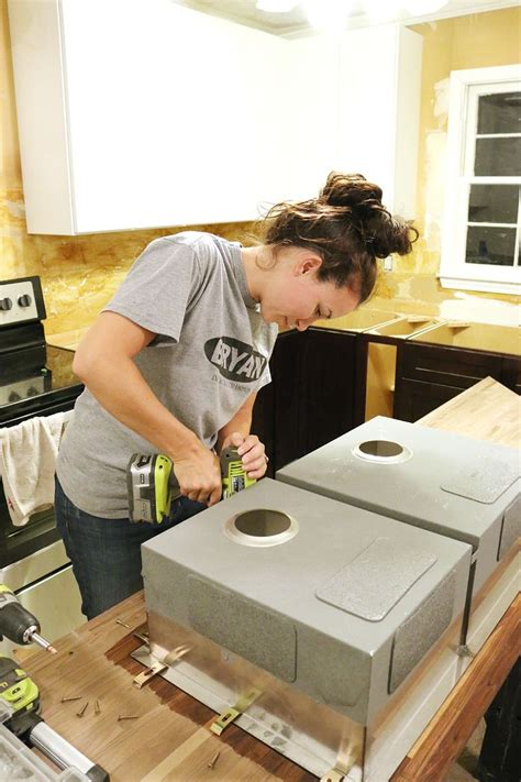 how to cut a butcher block countertop how to cut seal install butcherblock countertops with