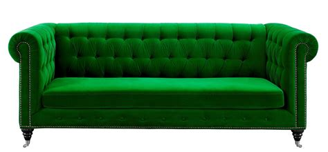 gray tufted hanny green velvet sofa from tov s42 coleman furniture