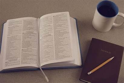 Journal Write Notebook Bible Study Coffee Reading