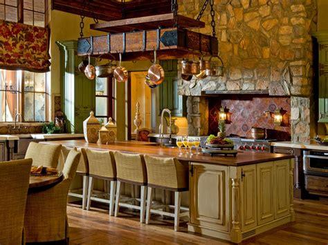 kitchen island pot rack photos hgtv