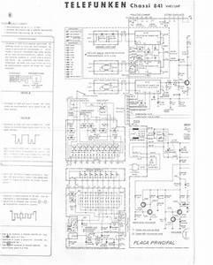 Telefunken Chassis 841  Service Manual  Repair Schematics