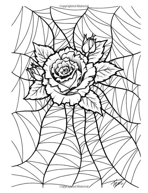 gothic coloring  gothic coloring