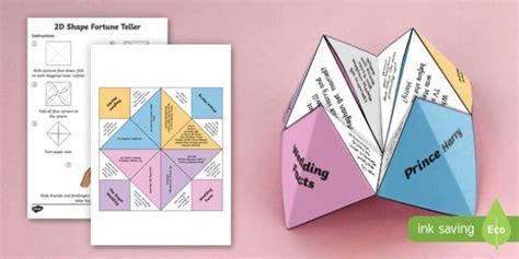 ks  royal wedding fortune teller template harry