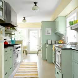 Craftsman Bungalow Galley Kitchen