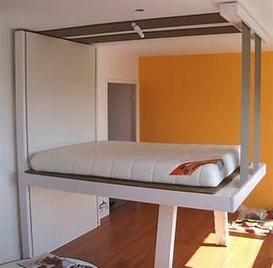 Lit Au Plafond Electrique : lit au plafond lit au plafond with lit au plafond ~ Premium-room.com Idées de Décoration