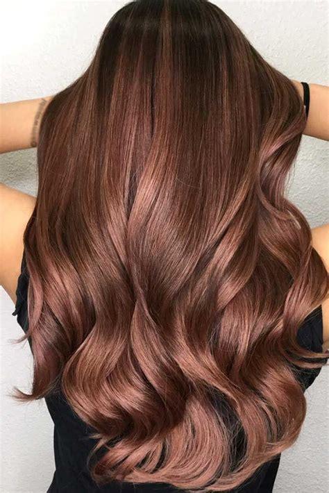 seductive chestnut hair color ideas   today hair
