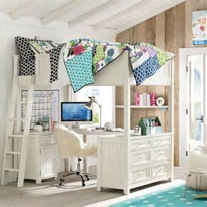 beadboard loft bed loft beds other metro by pbteen