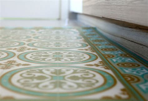 free shipping tiles pattern decorative pvc vinyl mat