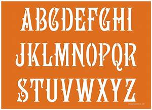 2 inch 180039s art nouveau alphabet stencils uppercase With buy alphabet letters