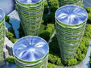 Futuristic Paris Smart City Is Filled With Flourishing