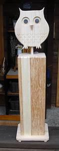 Tiere Aus Holz Basteln : bildergebnis f r holzstelen f r den garten eulen owls holz eulen aus holz und holzstelen ~ Orissabook.com Haus und Dekorationen