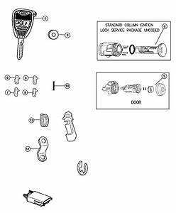 Dodge Nitro Cap  Door Lock Cylinder  Export