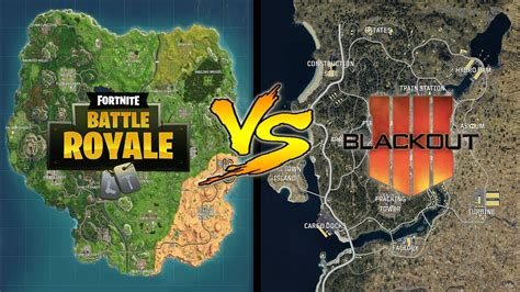 fortnite map  blackout map map size comparison youtube