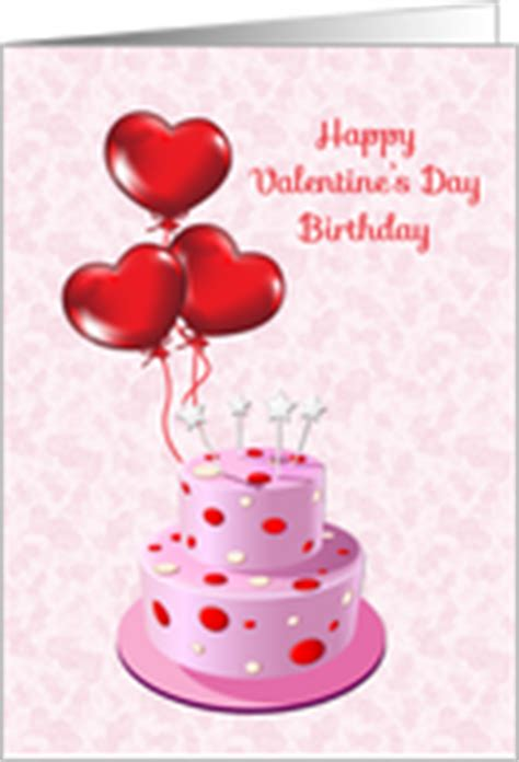 General Birthday on Valentine's Day Cards from Greeting ...