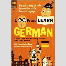 Look And Learn German Book Cover Illustration  Allemand  Pinterest  Learn German, English And