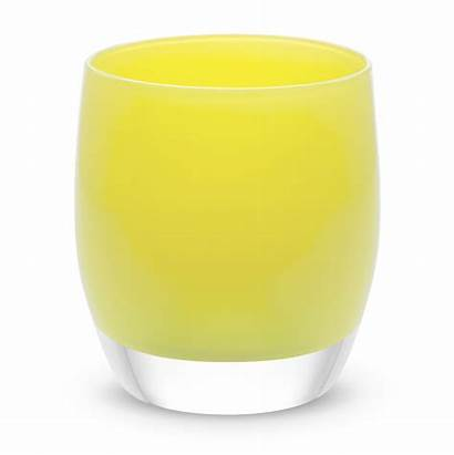 Fearless Glassybaby Glass Candle