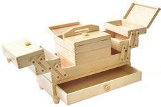 cantilever wood sewing box small sewing box wooden box