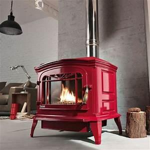 Poele A Bois Rouge : po le bois bradford invicta marie claire maison ~ Dailycaller-alerts.com Idées de Décoration