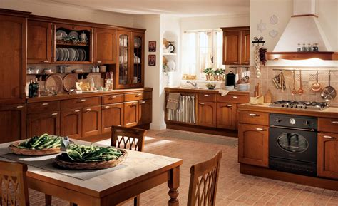 traditional kitchen design homey feel