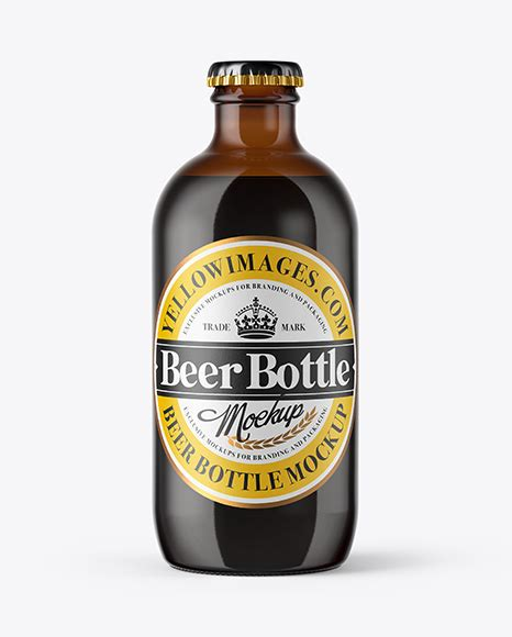 In this article you can find not only single wine bottle mockups but a wide range of wine bottles sets with various angles , textures, backgrounds, stages. 330ml Amber Glass Stout Beer Bottle PSD Mockup - All ...