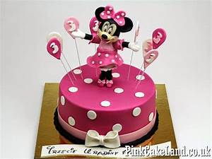 Mickey & Minnie Mouse Cakes: Minnie Mouse Birthday Cakes ...