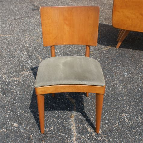 Heywood Wakefield Dining Chair Styles by 6 Vintage Heywood Wakefield Stingray Dining Side Chairs