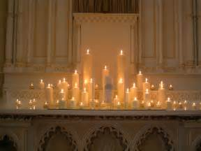Wedding Altars with Candles