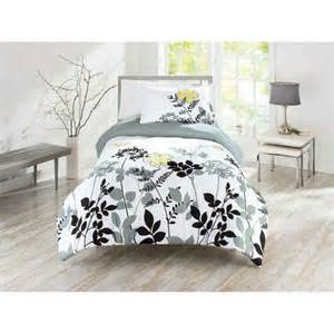 better homes and gardens yellow fauna bedding comforter