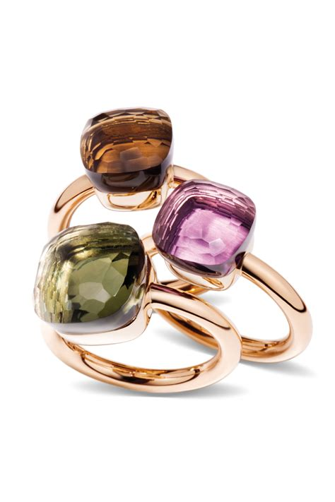 pomellato ring nudo pomellato s nudo ring collection is stunning available in